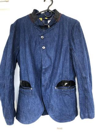 Стильный джинсовый жакет g-star