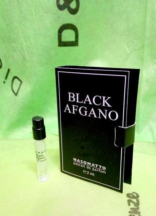 Black afgano nasomatto_original mini vial spray 2 мл книжка миниатюра пробник