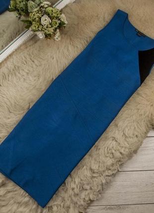 Шикарное миди платье от armani exchange рр l\g (на 12-14 uk) наш 46-48