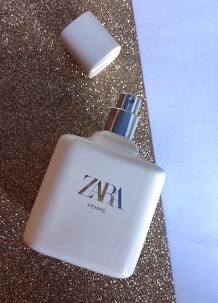 Духи zara femme/парфюм туалетная вода/парфуми /туалетна вода