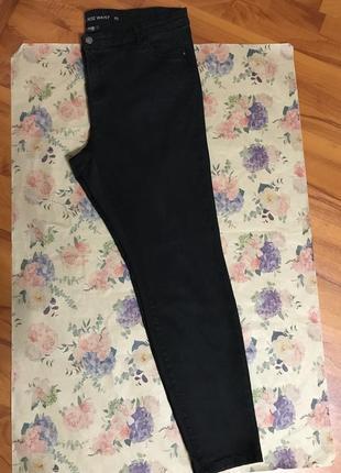 Plus-size джинсы-скинни из лиосела