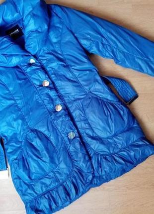 Новая женская пуховая куртка savage, 46 р,пуховик, полупальто