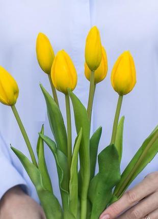 Букет тюльпанов 4+3