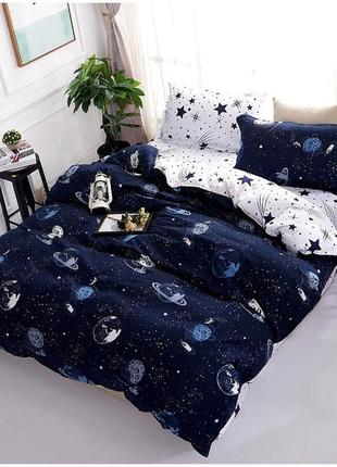 Комплект постільної білизни, комплект постелтного белья  космос