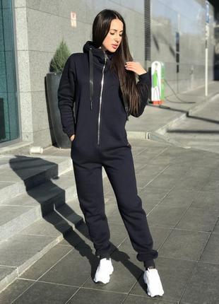 Комбинезон спортивный женский теплый технитка-флис