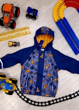 Классная куртка от дождя lupilu для мальчика (новая), куплено в литве