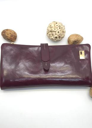 Кожаный кошелёк jccs