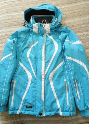 Красивая, яркая лыжная курточка iguana