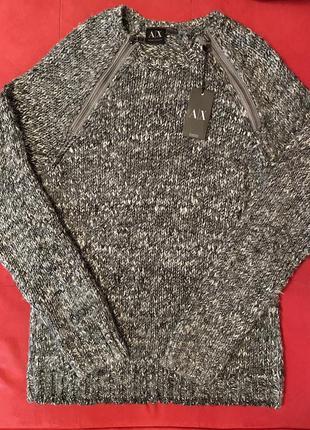 Шерстяной свитер armani exchange