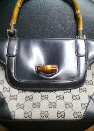 Эксклюзивная сумка клатч сумочка с короткими ручками