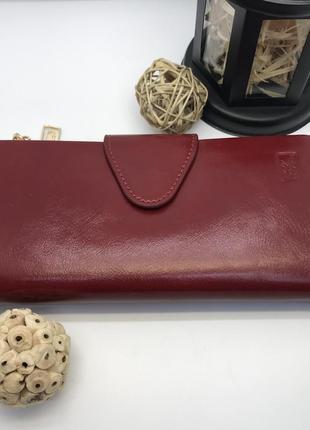 Красный женский кошелёк somuch