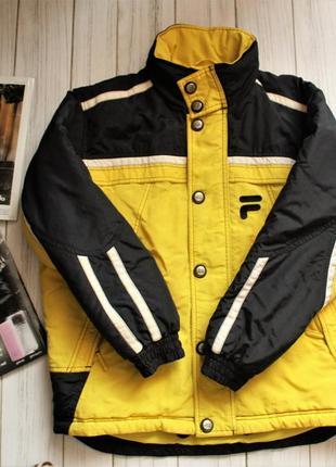 Куртка fila l 11-12 лет, теплая,зимняя, лыжная