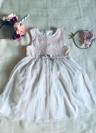 Marks&spencer (маркс и спенсер)  жемчужное платье. расшито золотыми паетками.  пышная юбка