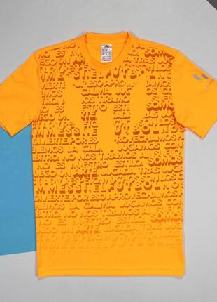Яркая футболка для занятий спортом из линейки messi от adidas