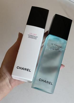 Chanel молочко для умывания и тоник оригинал