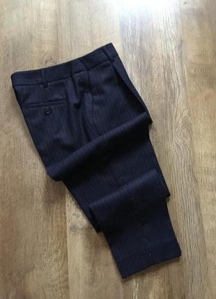 Классические укорочённые брюки maxmara weekend c высокой посадкой р-р m-l