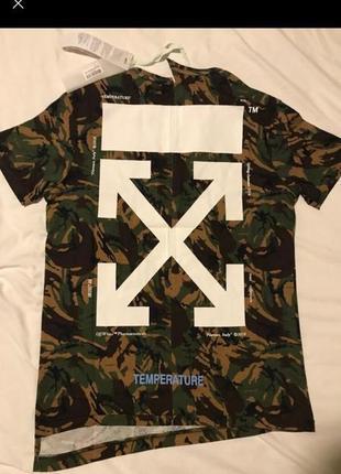 Стильная футболка ассиметричного кроя off-white
