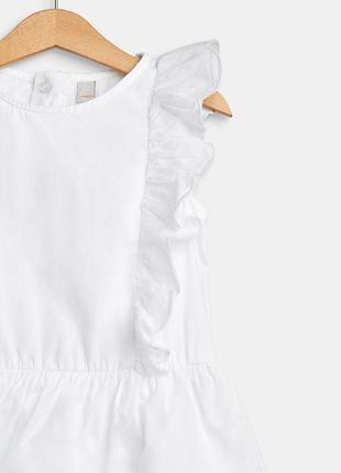 Esprit батистовое платье. рост 128-134. замеры