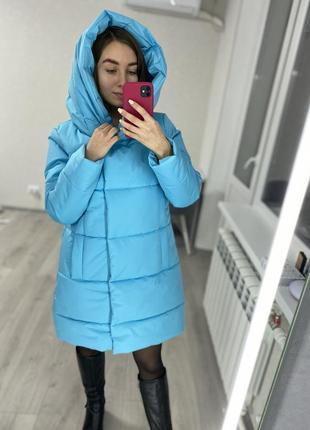 Скидка! женская зимняя куртка с капюшоном высокого качества! распродажа! пальто