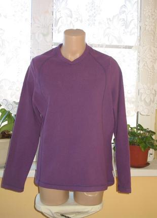 Реглан *кофта флис фиолетовая