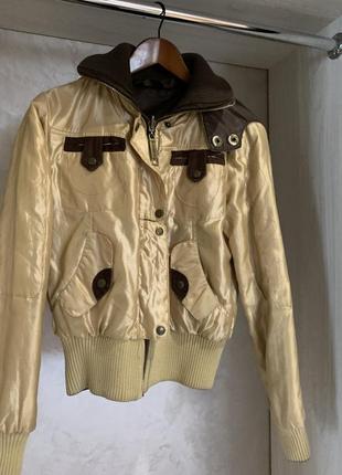 Курточка двухсторонняя весна -осень