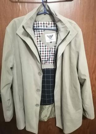 Мужское пальто демисезон armani