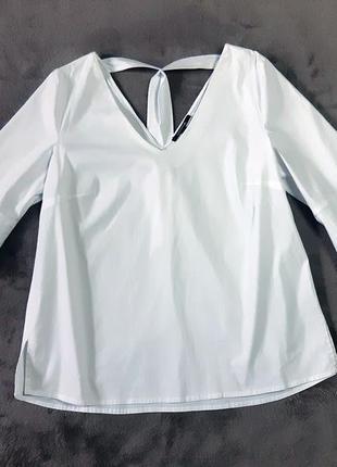 Женская брендовая белая блузка comma
