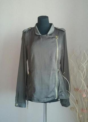 Стильная куртка , ветровка ,косуха