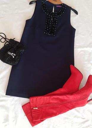 Шикарное платье а-силуэта