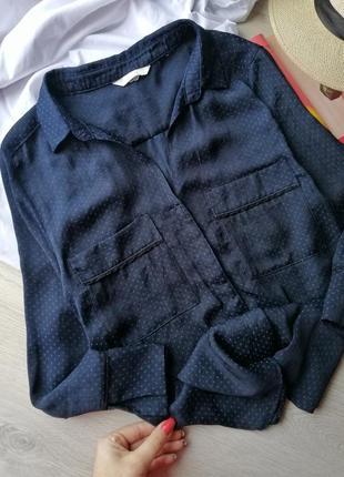 Стильная рубашка в бельевом стиле h&m