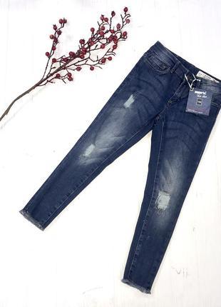 Рваные джинсы на девочку 128 см