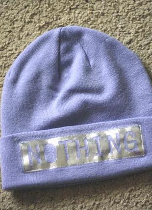 Демисезонная шапочка для девочкиh&m