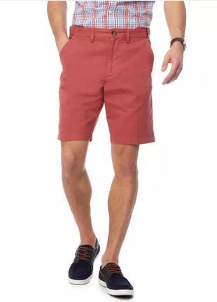 Мужские классические шорты терракотовый цвет