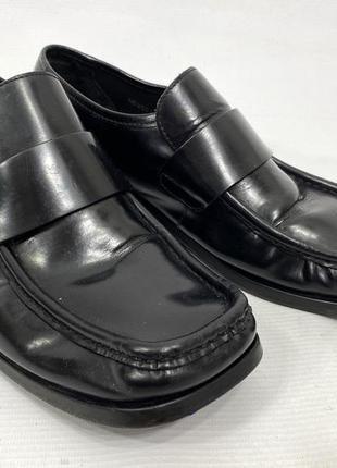 Туфли стильные, фирменные next, кожаные