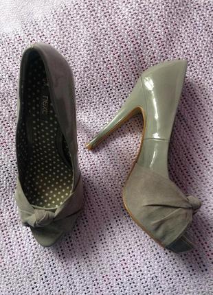 Туфли с открытым носком next