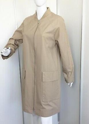 Качественный, стильный тренч, удлененный бомбер, пальто от cos, оригинал