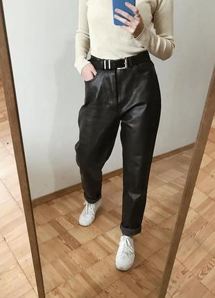 Кожаные брюки, кожаные штаны