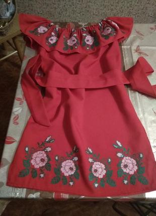 Платье- вышиванка