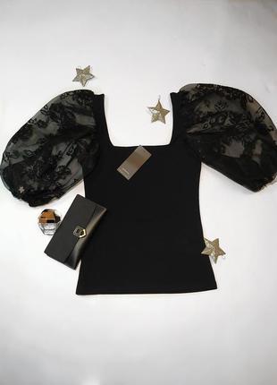 Блуза с рукавами.😍