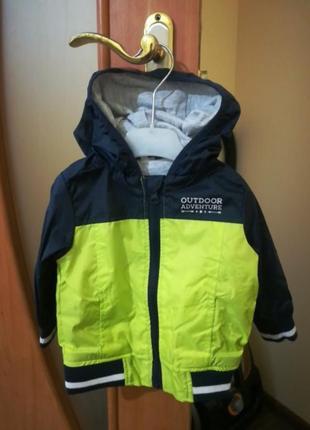 Сезонные курточки на новорожденных мальчиков!