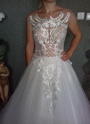 Свадебное платье anetta/ весільна сукня2 фото