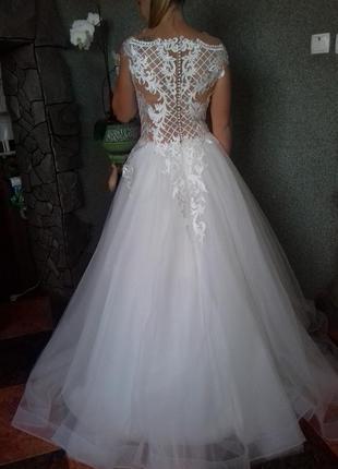 Свадебное платье anetta/ весільна сукня4 фото