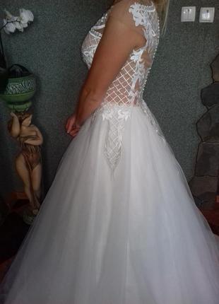 Свадебное платье anetta/ весільна сукня5 фото