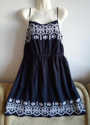 Платье с вышивкой, papaya, р. 16/xxl