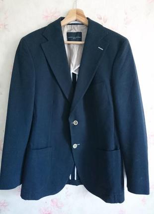 Базовый жакет пиджак из плотного коттона от tommy hilfiger ❤️