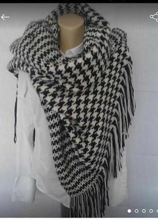 Promod большой роскошный шарф палантин
