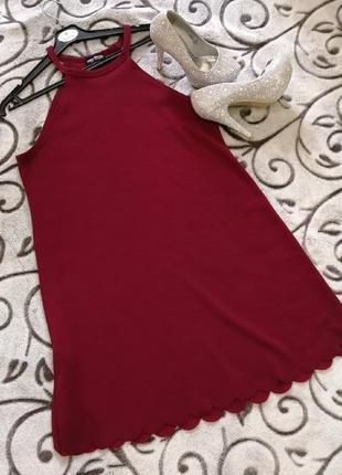 Стильное нарядное фактурное платье select, сост. отличное. размер 14/42. сток!