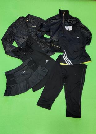 Спортивная одежда вещи: мастерка юбка лосины футболка майка штаны кофта