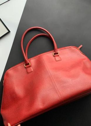 👜крутая красная дорожная сумка/ручная кладь/вместительная сумка/большая сумка в дорогу👜