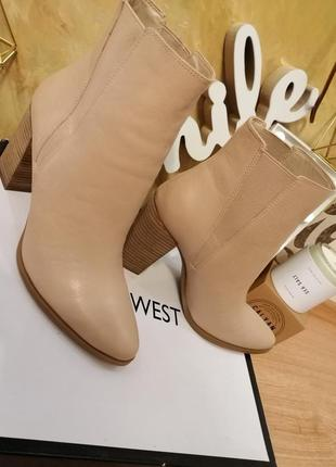 Ботинки полусапожки челси nine west